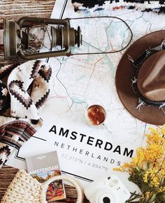 Map poster of Amsterdam, Netherlands. Print size 50 x 70 cm available at Mapiful.com