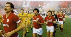 80s Torino-Verona great entrance at Comunale Stadium Turin by mundialstyle