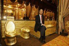 World's priciest toilet is located in Hong Kong. The Swisshorn Gold Palace was built in 2001 by Chinese jewelry mogul Lam Sai-wing. The entire washroom required 380 kg of pure gold and 6,200 gemstones.