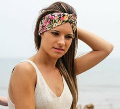 Women's Hair Accessories Dashing Tropical Style Variable Turban Hair Band Scarf Women Diy Bow Tie Hair Accessories Head Bands Girls Hairbands Holiday Headband