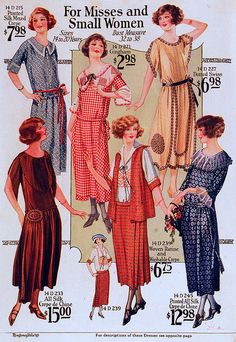 Fashions for Mises and Small Women, 1923