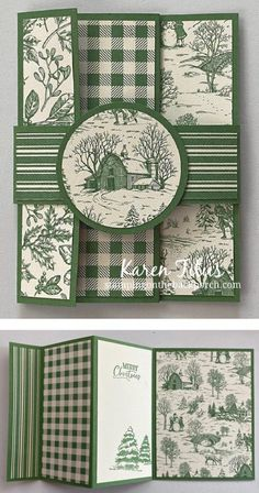 Tri Fold Cards, Fancy Fold Cards, Folded Cards, Christmas Baubles, Christmas Cards, Accordion Fold, Thing 1, Card Card, Unique Cards
