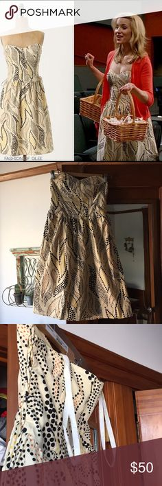 Anna Sui for Anthropologie Dress Mid-length dress - seen on Quinn from Glee! Anthropologie Dresses Midi
