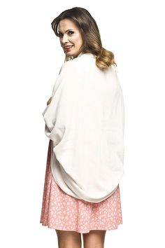 Krémový tehotenský kardigán na leto Bell Sleeves, Bell Sleeve Top, Tops, Women, Fashion, Moda, Fashion Styles, Fashion Illustrations, Woman