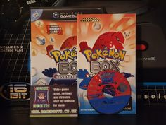 Game of the Day: Pokémon Box Ruby & Sapphire Repro case courtesy of . Game Booth, Game Of The Day, Youtube Thumbnail, Ruby Sapphire, Video News, Nintendo, Games, Box, Gaming