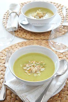 Crema di zucchine - Zucchini soup | From Zonzolando.com