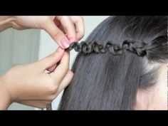 4 Cute Back to School Hair Styles for long hair! This video is amazing each style seams so easy to do. <3