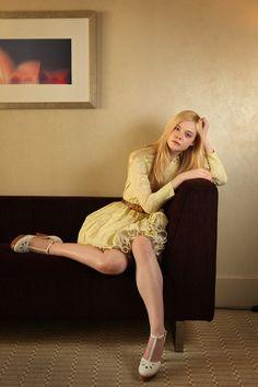 Elle Fanning - Super 8 portraits, 2011