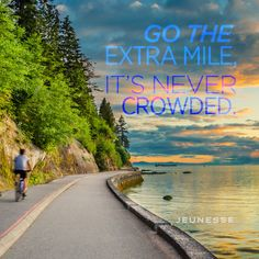 Go the extra mile, it's never crowded. -Unknown. http://zi6.365.pm/