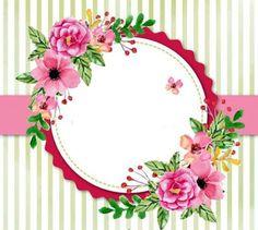 Imprimolandia: Marcos de flores (2)