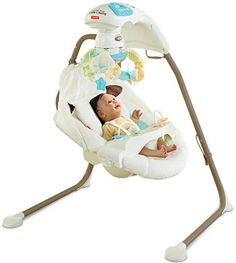 Fisher-Price Cradle Swing with AC Adapter Baby Swing Cheap Baby Swings, Fisher Price, Discount Baby Items, Portable Baby Swing, Portable Crib, Baby Cradle Swing, Baby Shower Gifts, Baby Gifts, Baby Registry Items