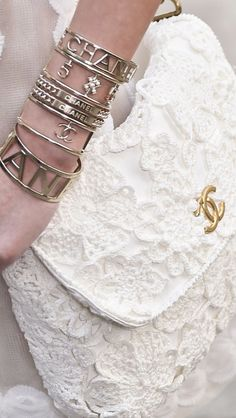 Chanel ~ Spring 2015 #fashion#accessories