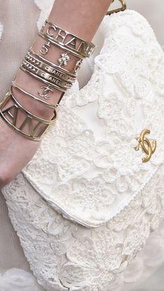 Chanel ~ Spring 2015 #fashion#accessories