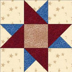 star quilt blocks 12 inch | Quilters Corner Club