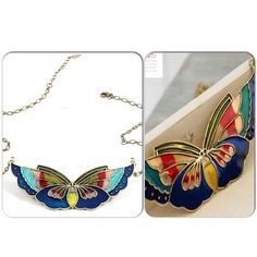butterfly necklace P150