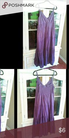 Selling this Purple maxi dress on Poshmark! My username is: craycrayrach. #shopmycloset #poshmark #fashion #shopping #style #forsale #Dresses & Skirts