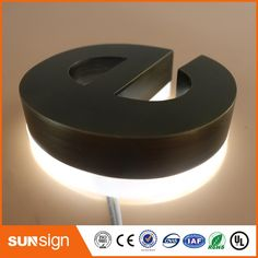 Cheap backlit letter signs, Buy Quality letter sign directly from China backlit letters Suppliers: Waterproof LED Brushed Acrylic material led backlit letter sign Electronic Signs, Acrylic Material, New Product, Led, Lettering, Alibaba Group, Calligraphy, Letters, Character