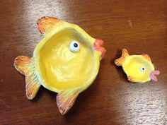 Fish Pinch Pot: Learning Goal: Organic Form, Warm or Cool Colors