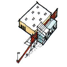 Building Massing Concept Sketch