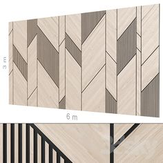 models: Other decorative objects - Decorative wall Wall Cladding Interior, Wall Cladding Designs, Interior Walls, Wall Panel Design, Feature Wall Design, Wooden Wall Panels, Wooden Walls, Decorative Wall Panels, Modern Wall Paneling