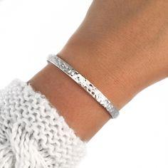 """Sterling Silver Bracelet """"Loa"""" - Pandalys, silver bracelet for women, silver jewels, women, modern, gift, love, friendship,"""