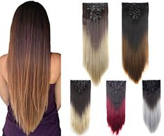 Synthetic Hair Extensions, Clip, Delivery, Amazon, Riding Habit