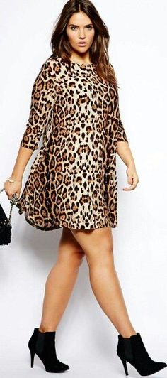 summer fashion plus size 2014 - Can plus size women wear prints? 5 Tips summer fashion plus size 2014 - Can plus size women wear prints? 5 Tips Beauty And Fashion, Curvy Girl Fashion, Plus Size Fashion, Womens Fashion, Fashion 2014, Fashion Fall, Xl Mode, Mode Plus, Look Plus Size
