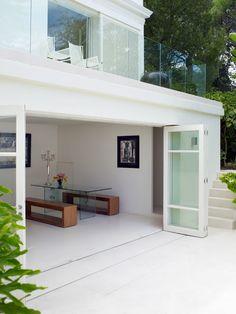 indoor outdoor living.. yes please