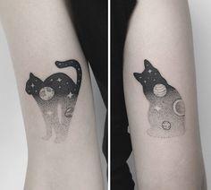 Tatuagem de gato