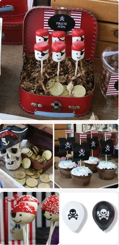 pirate party using blumeboxes pirate bithday party ideas Pirate Birthday, Pirate Theme, Pirate Kids, Pirate Snacks, Festa Hot Wheels, Peter Pan Party, Party Decoration, Childrens Party, 1st Birthday Parties