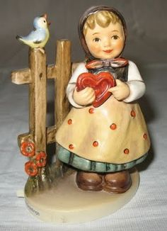 """Hummel Figurines  """"SWEET GREETINGS"""""""