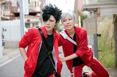 Tetsuroo Kuroo & Haiba Lev   Haikyuu!! #anime #cosplay