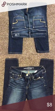 American Eagle Jeans Super Stretch / Skinny Size 4 American Eagle Outfitters Pants Skinny