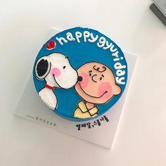 Ideas baking cute kids for 2019 Pretty Birthday Cakes, Happy Birthday Cakes, Pretty Cakes, Cute Cakes, Korean Cake, Cute Desserts, Cafe Food, Cake Shop, Bake Sale