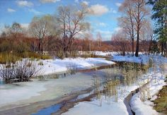 This page is blocked by service provider. Winter Landscape, Landscape Photos, Landscape Art, Landscape Paintings, Painting Snow, Winter Painting, Traditional Landscape, Traditional Paintings, Dream Pictures
