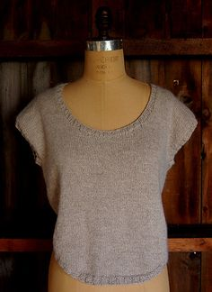 Ravelry: Short Row Sweater pattern by Purl Soho
