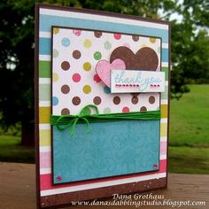 Love the fun, bright colors used for this card!