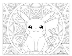 adult pokemon coloring page pikachu   coloring pages   pinterest - Coloring Pages Pokemon Pikachu