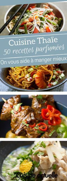 Thai-style cuisine: 50 spicy and spicy recipes to feast on Thai recipes Spicy Recipes, Indian Food Recipes, Asian Recipes, Beef Recipes, Soup Recipes, Cooking Recipes, Healthy Recipes, Cooking Chef, Batch Cooking
