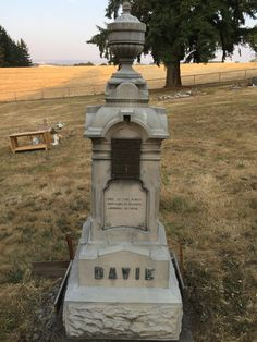 One of the first settlers in Oregon in 1842 @ the Aumsville Oregon Community Cemetery Splash Park, State Of Oregon, Skate Park, Cemetery, Pond, Fountain, Community, Outdoor Decor, Water Pond