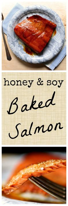 From freezer to table in just 15 minutes!  This easy baked salmon recipe is perfect for busy weeknights.  A simple honey & soy marinade takes the flavor to the next level!  Sponsored by Alaska Seafood.