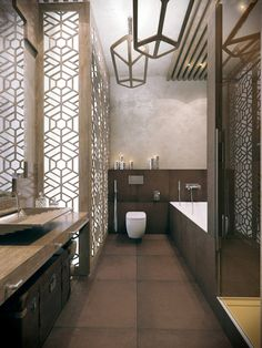 DARVINA Apartments interior by Annis Lender, via Behance