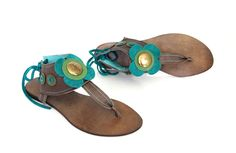 hand-made leather sandals  model: S3-4