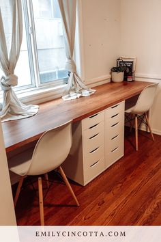 Ikea Home Office, Diy Office Desk, Home Office Layouts, Guest Room Office, Home Office Setup, Home Desk, Home Office Space, Ikea Corner Desk, Ikea Alex Desk