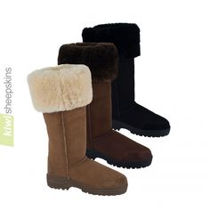 Extra tall sheepskin boots Musketeer Ultimate available in 3 colors