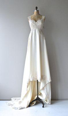 Babette wedding gown vintage 1970s wedding gown by DearGolden
