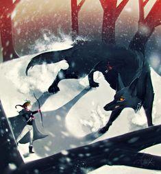 Feyre and Andras by revois.deviantart.com on @DeviantArt