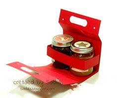 porta vasetti confettura Sugar Packaging, Cake Packaging, Bottle Packaging, Pretty Packaging, Packaging Design, Honey Container, Food Bouquet, Chutney, Gift Box Design