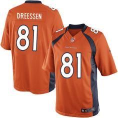 Joel Dreessen Limited Jersey-80%OFF Nike Joel Dreessen Limited Jersey at Broncos Shop. (Limited Nike Men's Joel Dreessen Orange Jersey) Denver Broncos Home #81 NFL Easy Returns.