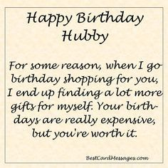 Happy Birthday Husband Funny